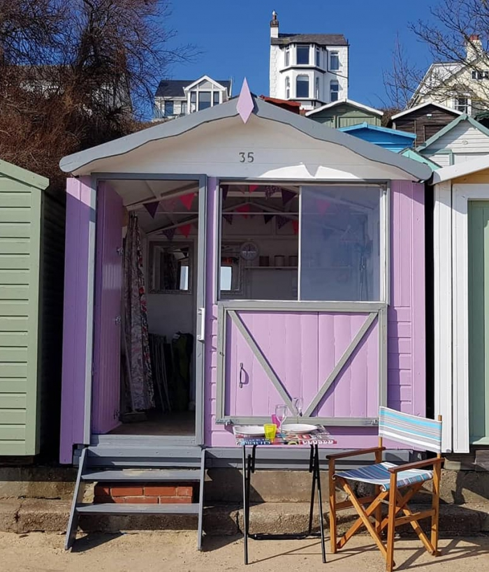 Alice Beach Huts | Walton on the Naze Essex Beach Hut Hire